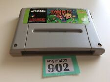Snes Super Nintendo Zombies solo carro