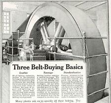 1918 Graton & Knight Leather Belts Print Ad - Graton & Knight Mfg. Co. May 1918