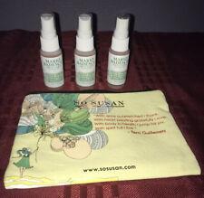 3X Mario Badescu Facial Spray with Aloe, Herbs and Rosewater 1oz Each & Bag