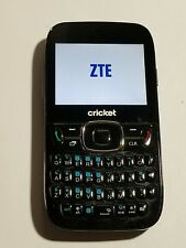 ZTE Altair 2 (Z432) 3G QWERTY Keyboard Phone-Cricket Locked-OC112