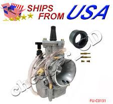 Carburetor 34mm OKO 2-Stroke Racing Flat Side PWK Carb W/ Power Jet Gy6 150cc