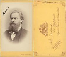Luckhardt, Wien, Niemann, ténor vintage CDV albumen carte de visite, Albert Niem