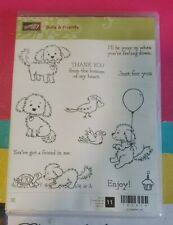 NEW Stampin Up BELLA & FRIENDS Puppy Dogs Friend Thank You Just for You