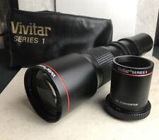 Vivitar Series 1 500mm f/8.0 Lens With 2x Teleconverter For nikon