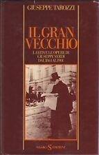 Tarozzi, Il gran vecchio, Sugarco, Giuseppe Verdi, musica, biografia, 1978
