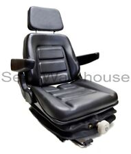 LOW PROFILE SUSPENSION SEAT MOWER, EXCAVATOR, FORKLIFT, WHEEL LOADER, DOZER #VL