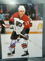 Rod Brind'amour FLYERS HOCKEY AUTOGRAPH SIGNED PHOTO FILE PRINT NHL