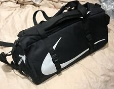 Nike x Off-White Black Duffle Bag With Matching Waist Bag IN HAND SOLD OUT