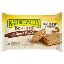 Nature Valley Flavored Biscuits - Almond Butter, Cinnamon - Box - 1.35 oz -.