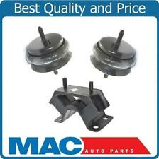 100% New Engine Motor Mounts & Transmission Mount 3Pc Kit for Pontiac GTO 04-06