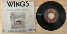 RARE FRENCH SP THE BEATLES WINGS SILLY LOVE SONGS