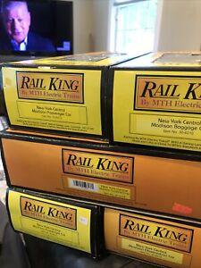 MTH Railking NYC 6 Car Passenger 30-6210 30-6211 30-6212 30-6213 30-6214 NIB MT