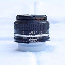 Nikon Nikkor Ai-S 50 mm f/1.8, ottime condizioni, molto apprezzato Lens