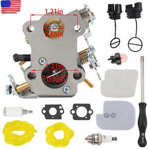 "Carburetor Kit For Poulan Predator P3516pr 35cc 16"" Gas Chainsaw"