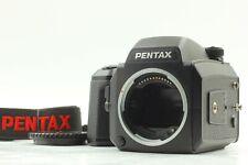 【 N MINT 】 Pentax 645 N 645N Medium Format Camera Body , 120 Cassette from JAPAN