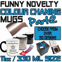Funny Colour Changing Mug Cup Coffee Tea - SUPER BD2
