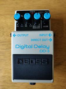 Boss DD-3 Digital Delay guitar effects pedal made in Japan