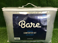 New Bare Home Comforter Set - Twin/Twin Extra Long - Goose Down Alternative Grey