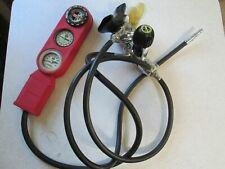 Aqua-Lung Calypso Vi Scuba Regulator w/ Pennform Console & 3 Gauges