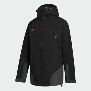 Adidas 3 Layer 20K Snowboard Jacket Black/Utility Black/Signal Orange FJ7502  M.