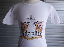 Vintage 1977 Queen Elizabeth Silver Jubilee T-Shirt Wow Rare! Made in U.K.