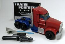 Transformers Prime Optimus Prime Voyager First Edition 1st Release Red Doors