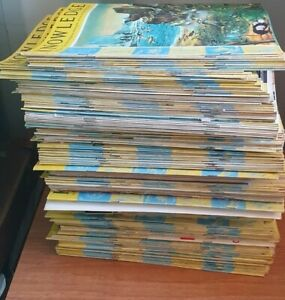 A Very Large Collection Of Vintage Knowledge Magazines