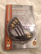 Monster Cable MV2CV-1M Monster Video. 2 Cable de video componente longitud 1 M