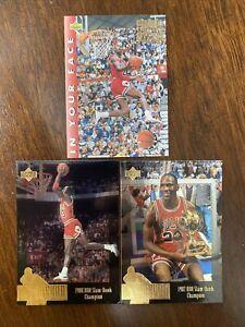 Michael Jordan Slam Dunk Card Lot