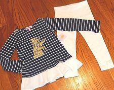 JUICY COUTURE TODDLERS/KIDS GIRLS BRAND NEW 2Pc DRESS LEGGINGS SET Sz 2T, NWT