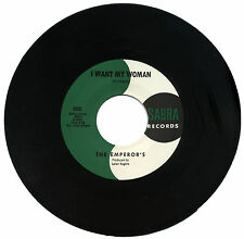 "EMPEROR'S  ""I WANT MY WOMAN""   60's GARAGE"