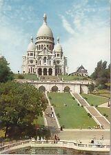 BF21716 paris basilique du sacre coeurde montmartre france  front/back image