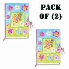 Pack of (2) Hot Focus - Butterfly Journal Book with Accessories New! 65P251Bf
