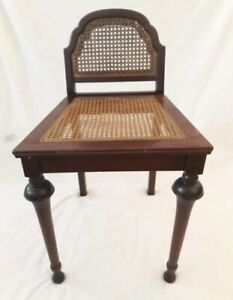 Antique Victorian Vanity Chair Furniture Home Decor Household
