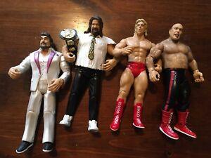 WWE Jakks Pacific Classic Superstars Action Figure Lot of 5 Vintage (Lot E)