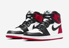 WMNS Nike Air Jordan Retro 1 High OG SZ 7.5 Chicago Satin Black Toe CD0461-016