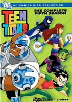 Teen Titans: The Complete Fifth Season (Season 5) (2 Disc) DVD NEW