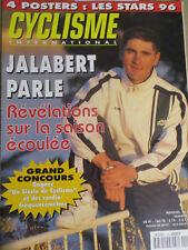 CYCLISME INTERNATIONAL : N°133: JANVIER 1997: JALABERT - GRAEME OBREE - INDURAIN