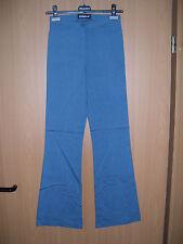 leichte Damen Stretch Hose Blau sehr elastisch Size 26  L32 Grösse 32 neu