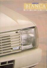 Fiat Panda Uno Strada Regata Bianca Limited Edition 1987 UK Market Brochure