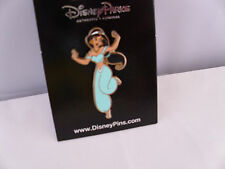 Disney * PRINCESS JASMINE * Dancing -Turquoise Outfit * New On Card Retired Pin