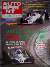 Autosprint 31 1979 Alfa nel ciclone ha chiuso con la F.1? Lieger e Ferrari SC.52