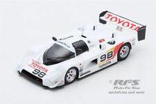 Toyota 88C 87C-007  500 km Road Atlanta 1989  Drake Olson 1:43  Spark US 049 NEU