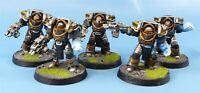 Horus Heresy Cataphractii Terminators Painted - Warhammer Clearout #BI