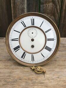 American Kroeber of New York, Time Only Vienna Regulator Style Clock Movement