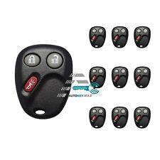 LOT OF 10 Keyless Entry Remote Key Fob for Tahoe Silverado Yukon Sierra LHJ011