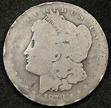"""1878 Morgan Silver Dollar.  Poor 1  """"Low Ball""""  92509"""