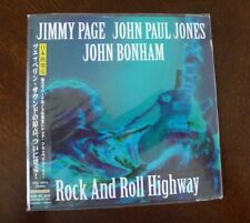 Rock And Roll Highway Jimmy Page, Jones, Bonham (pre Led Zeppelin, CD Japan) NEW