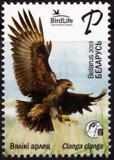 2019.Belarus. Bird of the year. Greater spotted eagle. Stamp. MNH.