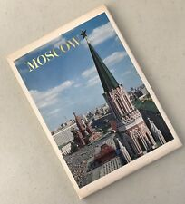 Vintage Moscow Mockba 16 Postcards Pack 1976 CCCP USSR Russia Red Square
